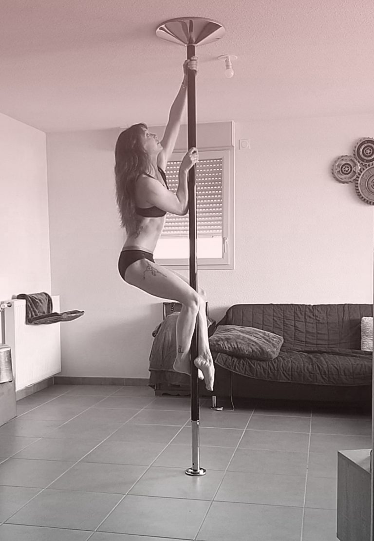 Basic climbs pole dance