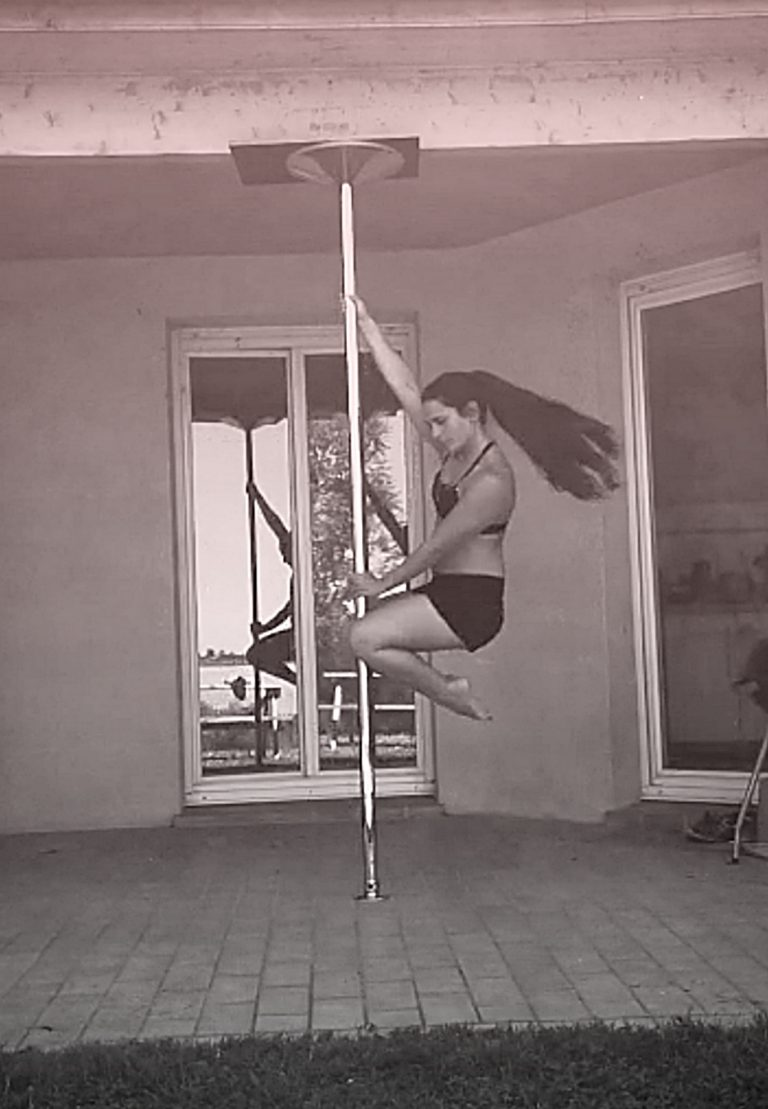 Fireman pole dance