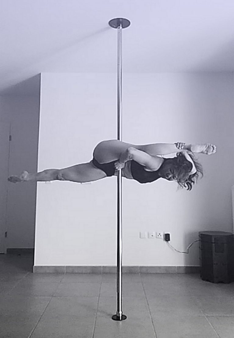 Machinegun pole dance