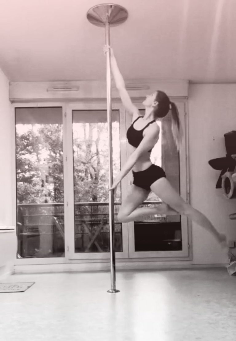 tinkerbell pole dance